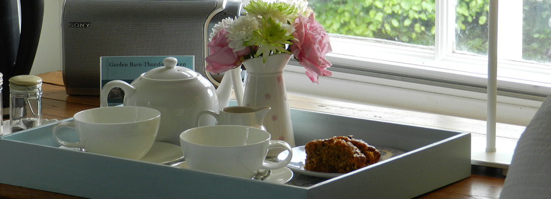 Guest Room Tea Tray